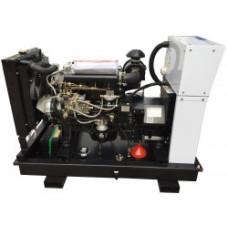 АД 100-Т400 электрогенератор дизельный трехфазный в кожухе Амперос
