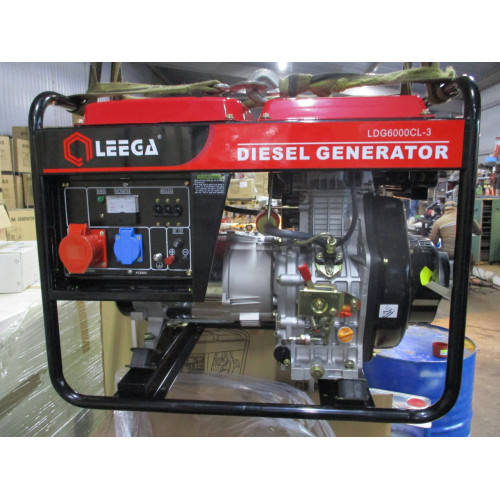 LDG6000СL-3 дизельный генератор трехфазный Амперос