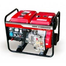LDG6000СLE-3 дизельный генератор + ATS трехфазный Амперос