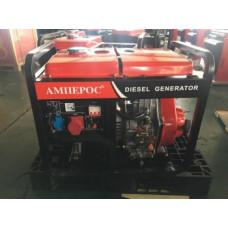 Дизельная генераторная установка однофазная Амперос LDG 12E