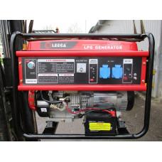 Генераторная установка бензиновая однофазная Амперос LT7500CLE