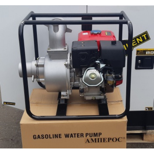 Мотопомпа бензиновая Амперос LTP 100C