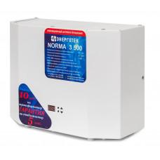 Стабилизатор напряжения однофазный NORMA 3000 Энерготех