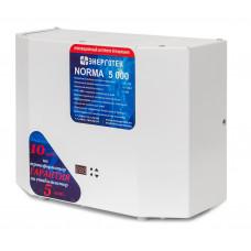 Стабилизатор напряжения однофазный NORMA 5000 Энерготех