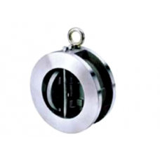 2402 09 DN050 PN25 Обратный клапан двустворчатый межфланцевый GENEBRE нержавеющая сталь AISI 316 Tmax=180°C
