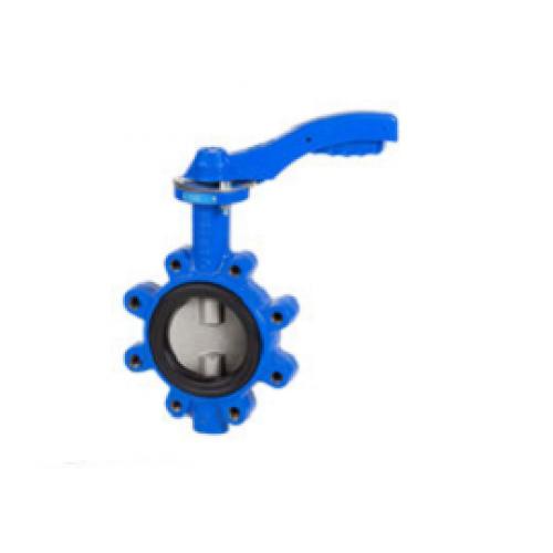 Затвор дисковый поворотный GENEBRE 2108 09 DN050 PN16, Тmax120°C