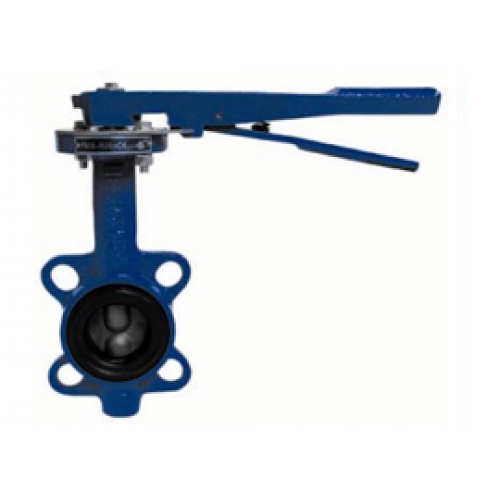 Затвор дисковый поворотный GENEBRE 2109 09 DN050 PN16, Тmax110°C