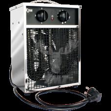 Калорифер электрический воздушный КЭВ - 3 корпус нержавеющая сталь (ТУ 3442-013-49110786-2002)